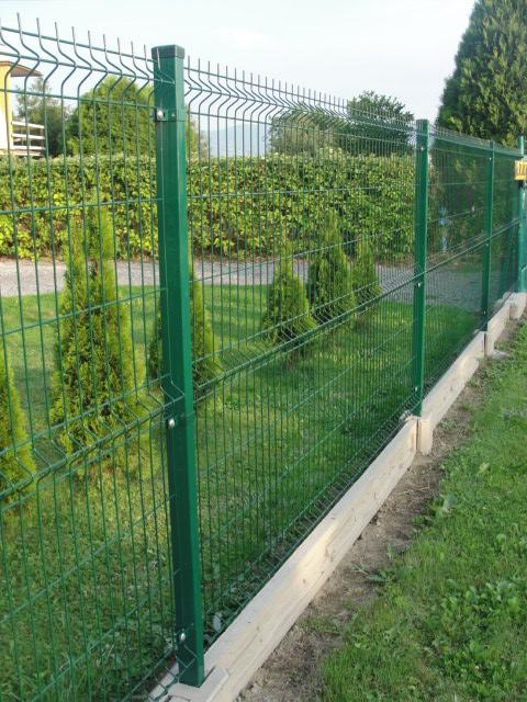 Poważne Sklep ogrodzenia Montaż ogrodzenia systemowego bez podmurówki AZ05